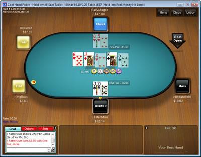 Cool Hand Poker Lobby